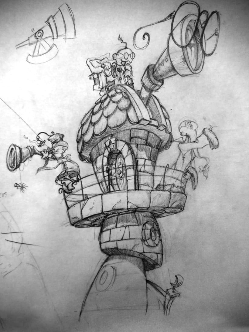 bocetillos, ilustras y muraletes 2