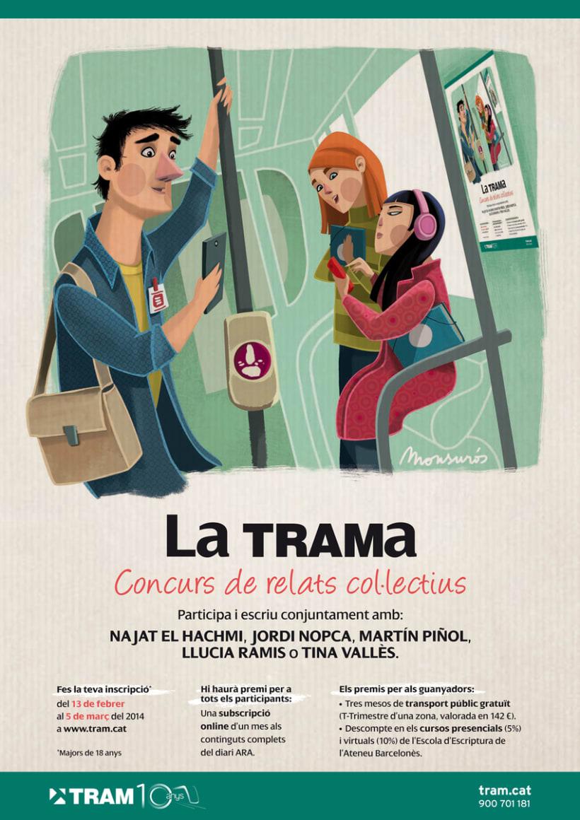 La TRAMa (relatos colectivos) -1