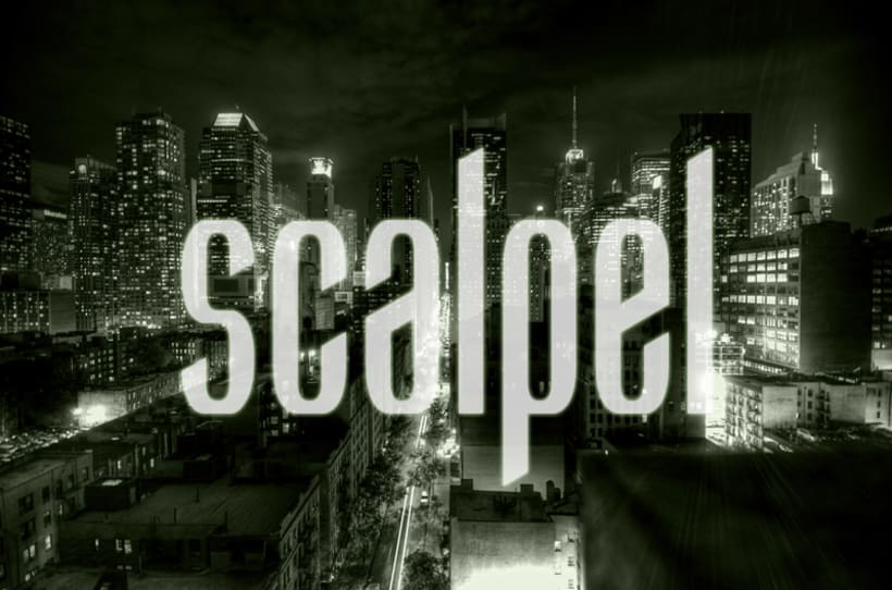Scalpel Font 8