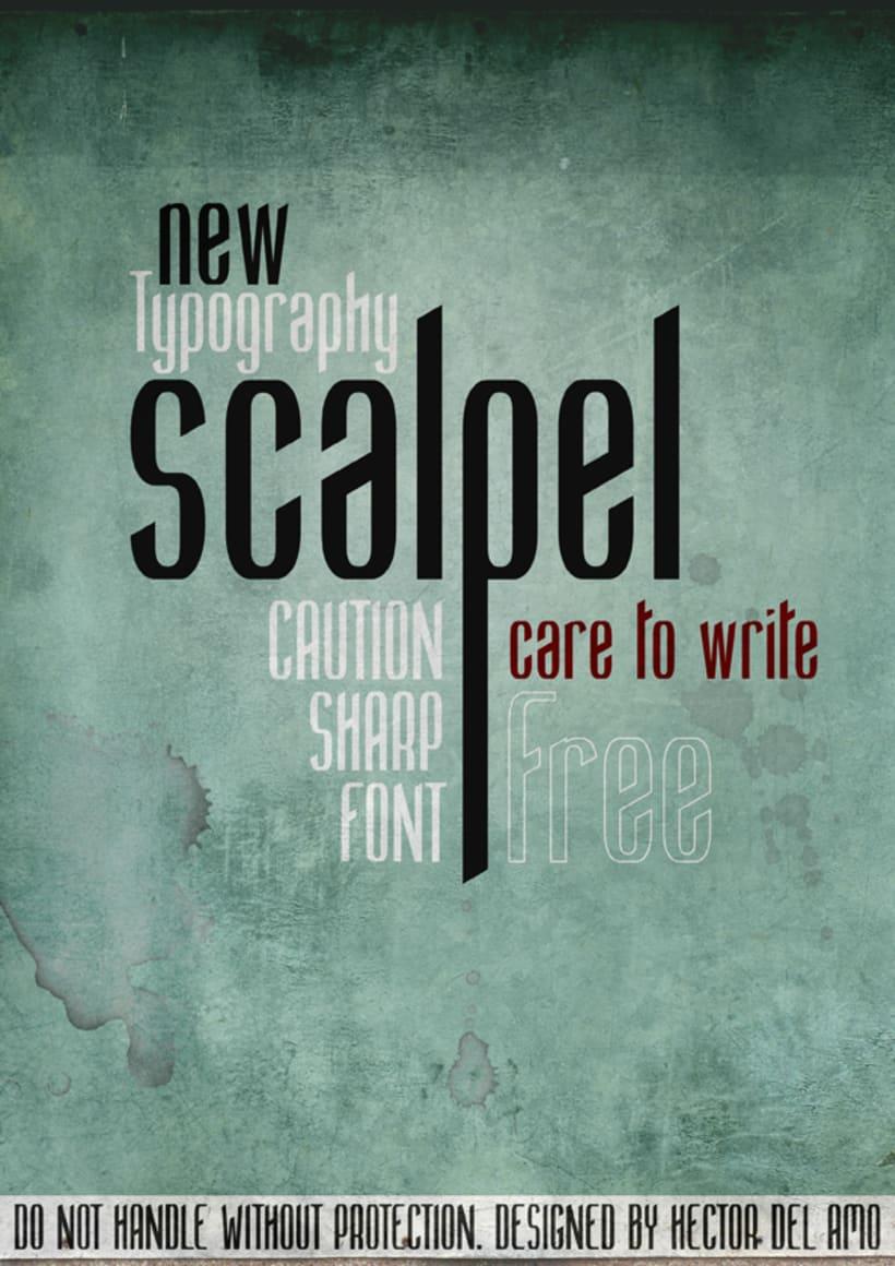 Scalpel Font 1