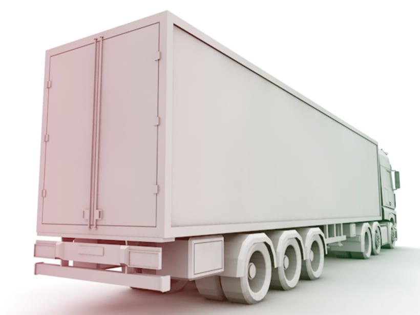 Low Poly Truck 3