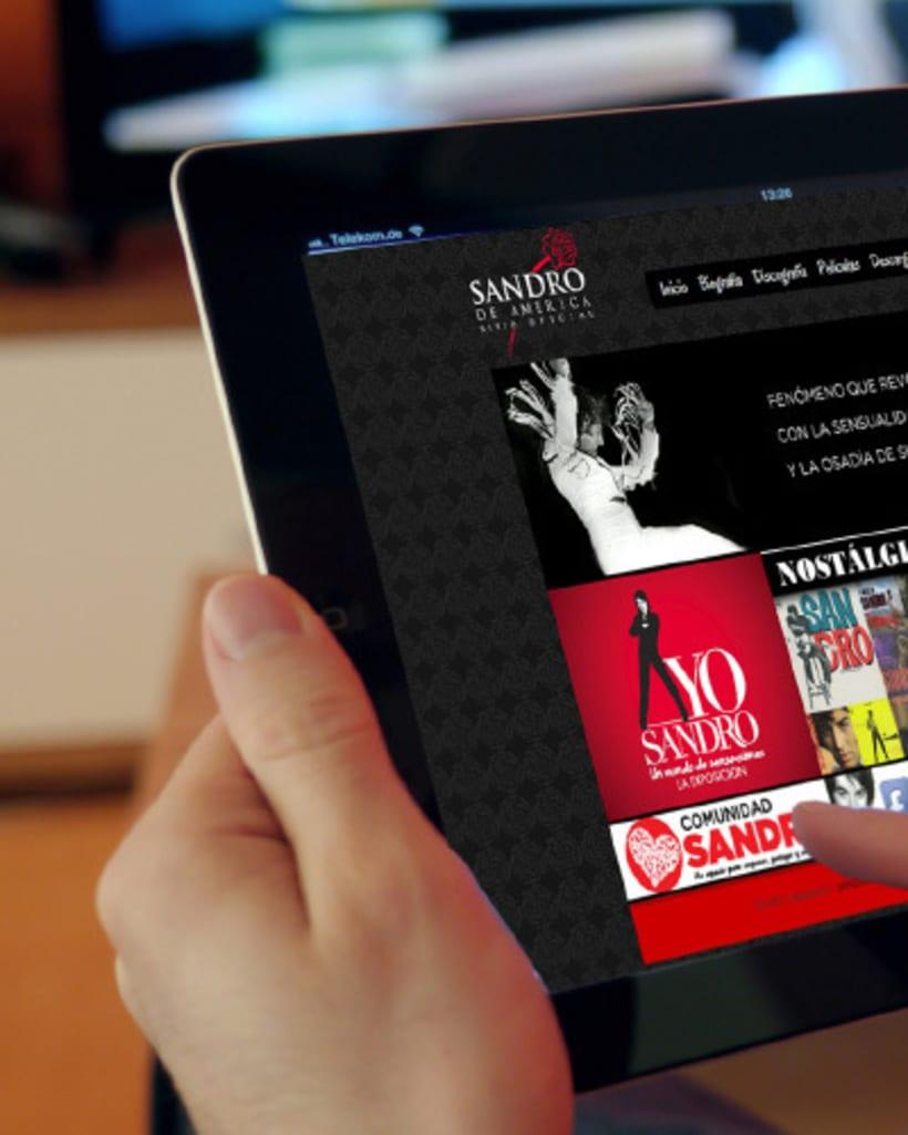 Yo Sandro :: La Exposición 1