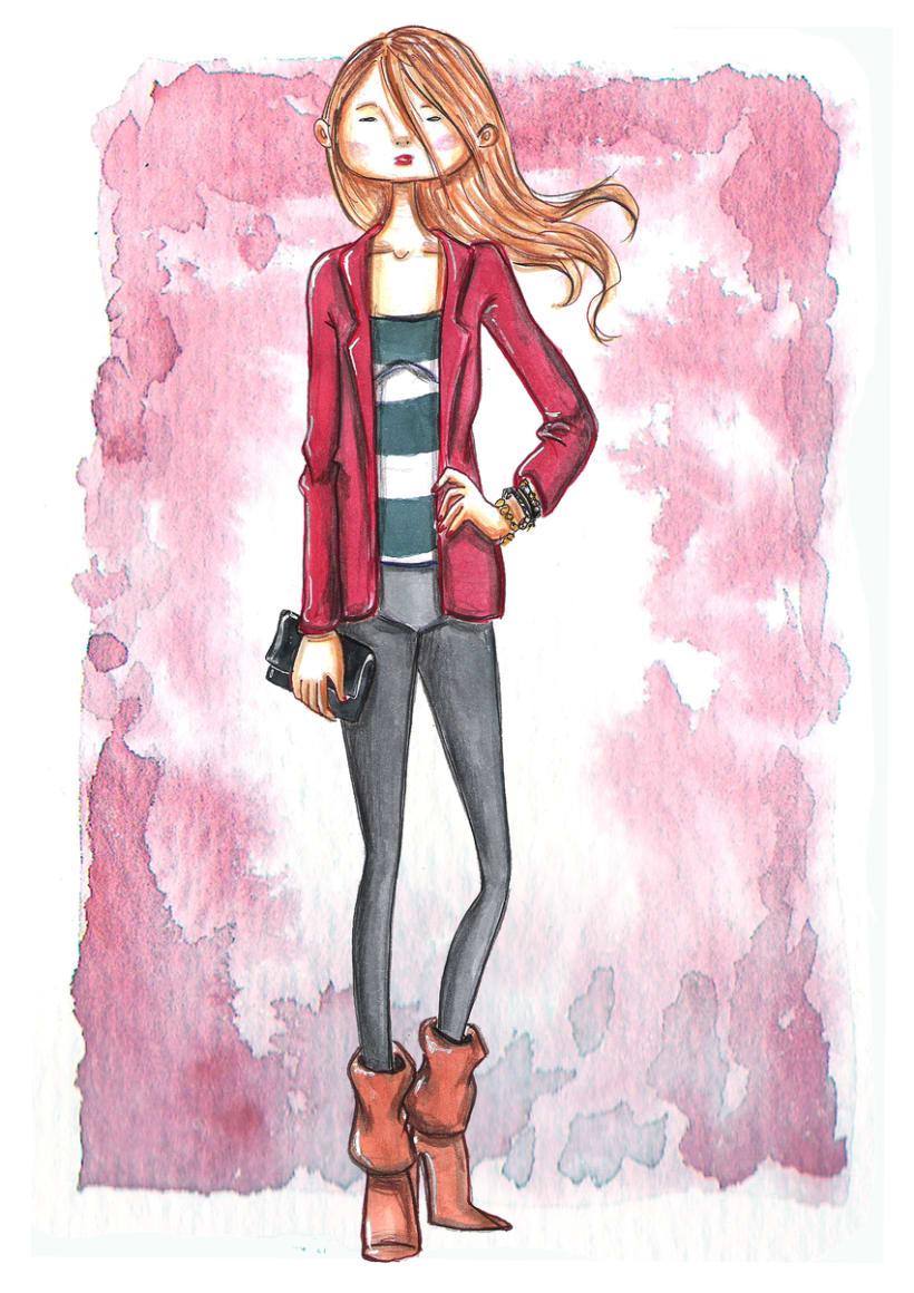 ilustracion de Moda 1