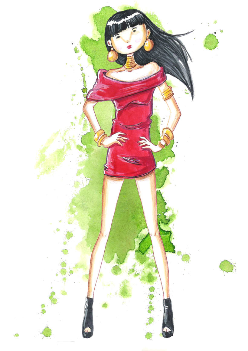 ilustracion de Moda 3