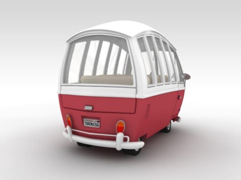 VW Cartoon Van 2
