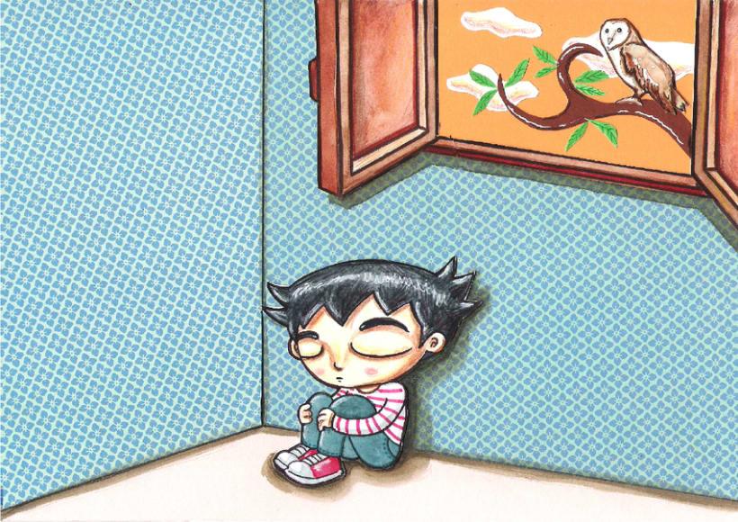 El niño lechuza ( Cuento ilustrado) 0
