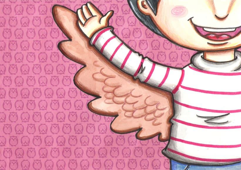 El niño lechuza ( Cuento ilustrado) 5