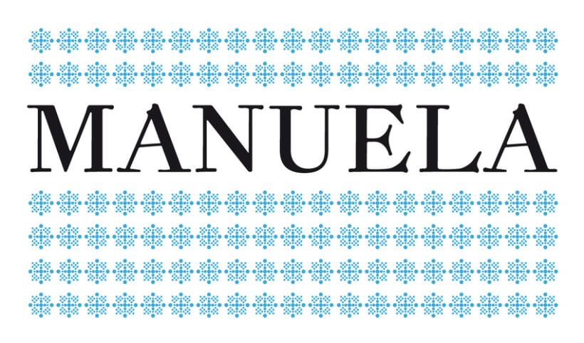 Manuela typeface 0