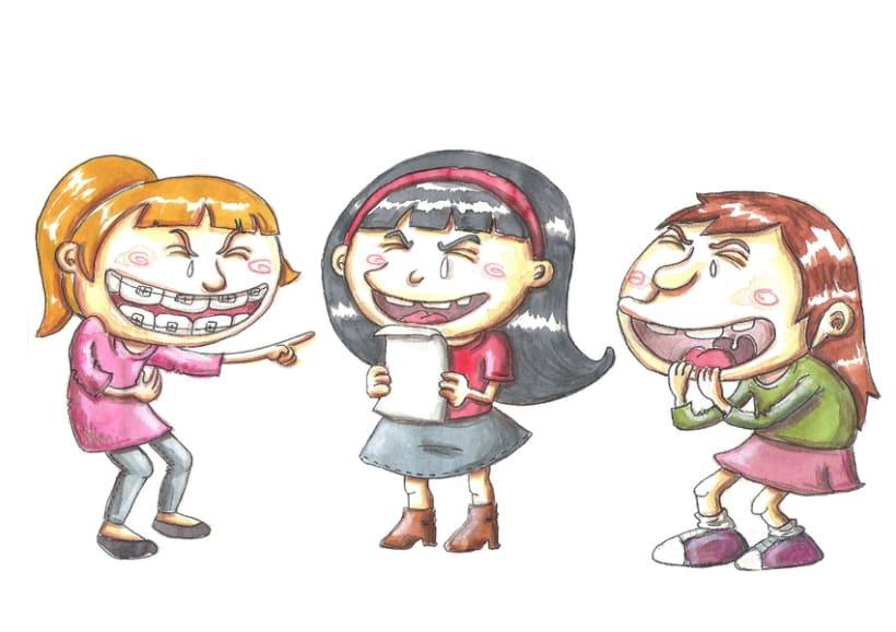 """diseños de personajes para el corto """"La Cita"""" 0"""
