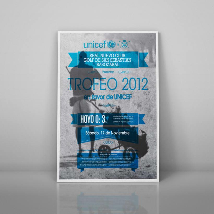 carteles Torneos a favor de Unicef 2012 3