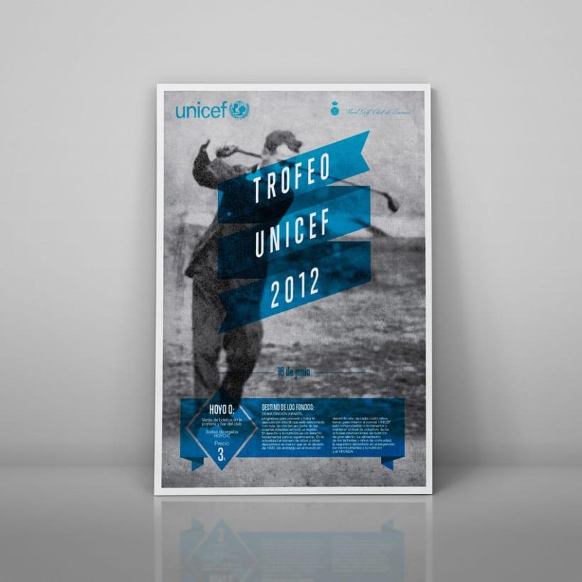 carteles Torneos a favor de Unicef 2012 1