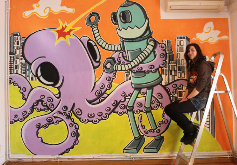 Pintura mural 8