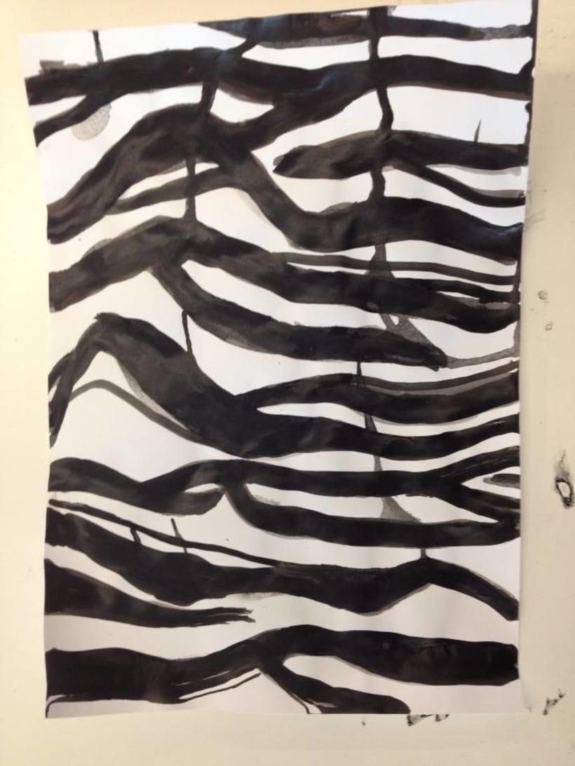 Ink handmade pattern 3