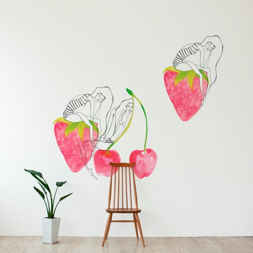 Mural Wallpaper & Vinyls for The Wallery -1