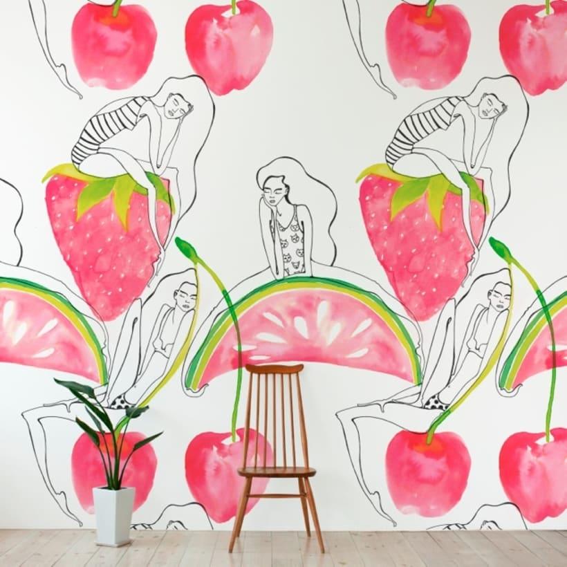 Mural Wallpaper & Vinyls for The Wallery 2