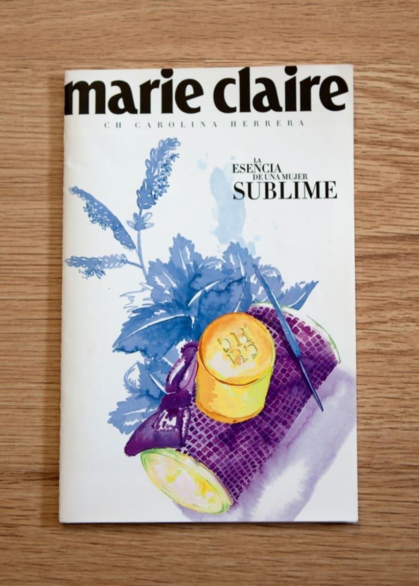 Marie Claire Magazine & Carolina Herrera -1