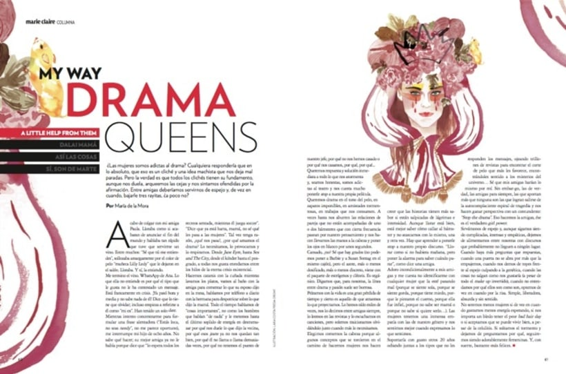 Marie Claire: Drama Queens -1