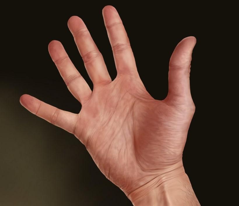 Juego de niños - Pintura digital realizada con los dedos en el Ipad  2