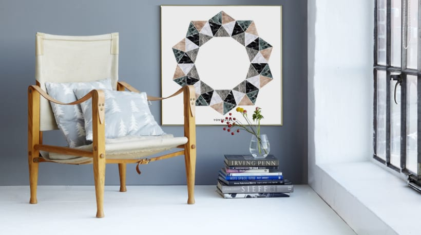 THE MATERIAL COLLECTION/ Artprints inspired in geometry and materials 1