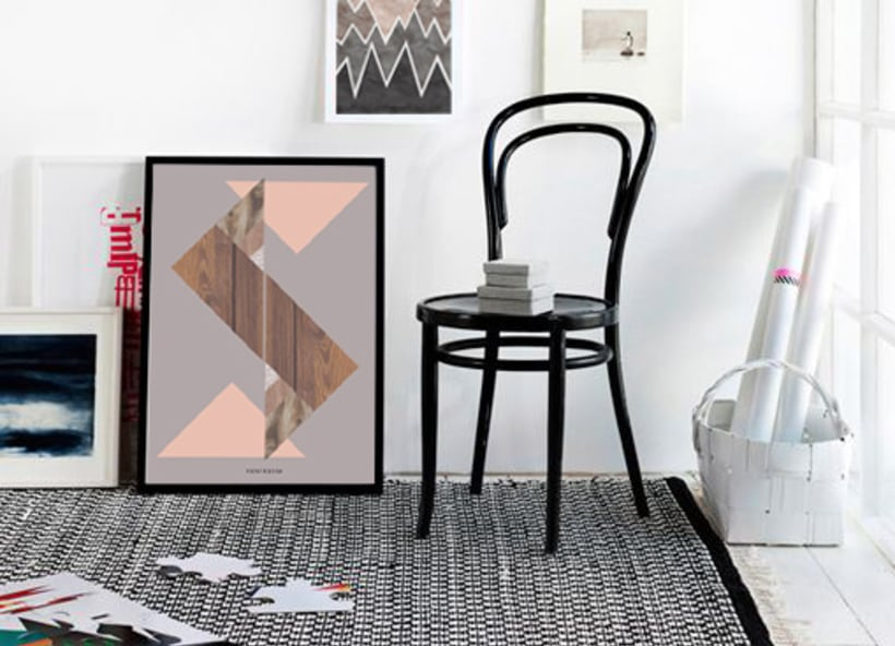THE MATERIAL COLLECTION/ Artprints inspired in geometry and materials 4