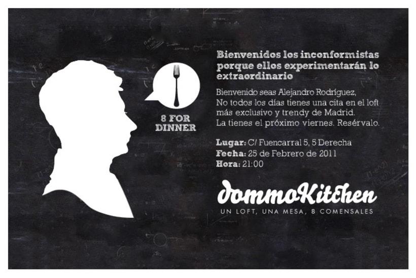 Invitaciones dommoKitchen 0