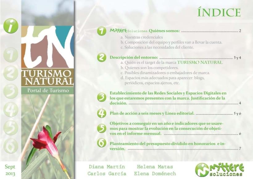 Turismo Natural: Estrategia en Redes Sociales (Mittere soluciones) 1