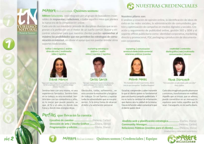 Turismo Natural: Estrategia en Redes Sociales (Mittere soluciones) 2