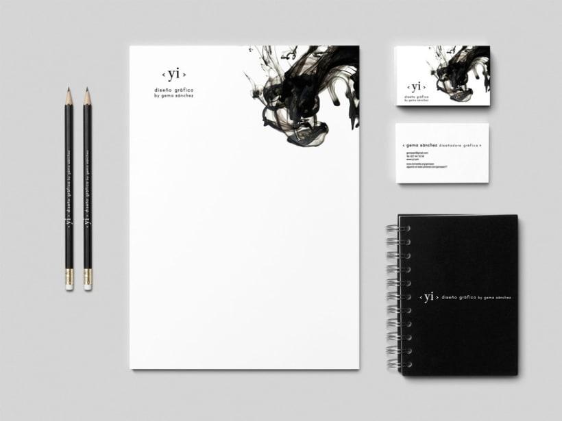 IDENTIDAD COPORATIVA YI diseño gráfico by gema sánchez -1