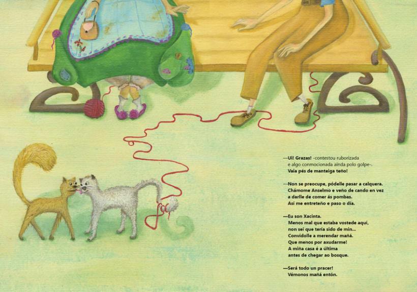 Libro ilustrado, Xacinta 2