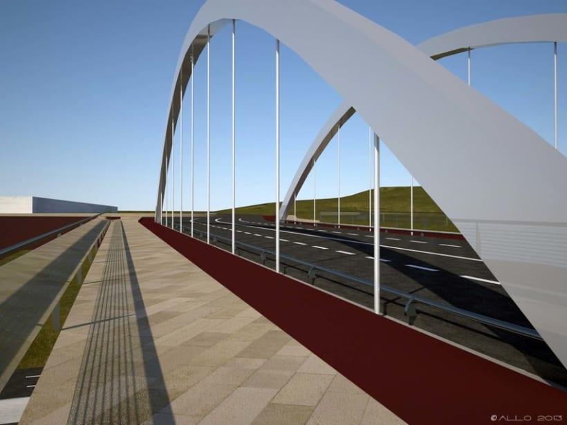 Puente sobre Alfonso Molina (proyecto Antonio J. Martín) 2