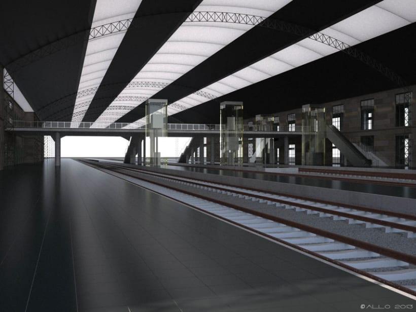 Estación Intermodal Santiago Compostela (proyecto de Guillermo Lorenzo) 0
