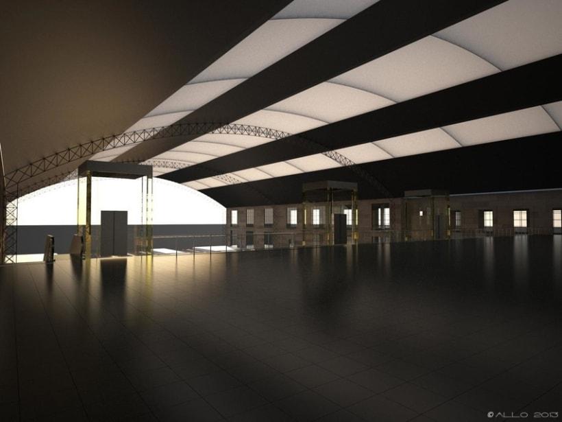 Estación Intermodal Santiago Compostela (proyecto de Guillermo Lorenzo) 1