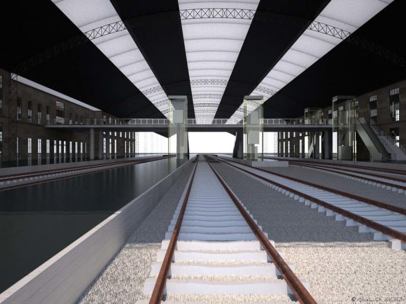 Estación Intermodal Santiago Compostela (proyecto de Guillermo Lorenzo) 2