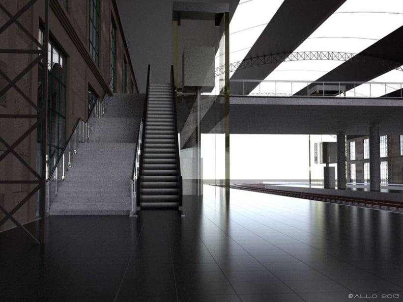 Estación Intermodal Santiago Compostela (proyecto de Guillermo Lorenzo) 3