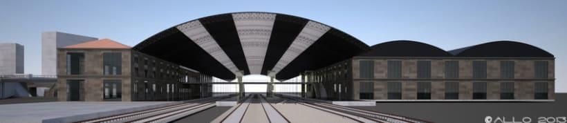 Estación Intermodal Santiago Compostela (proyecto de Guillermo Lorenzo) 5