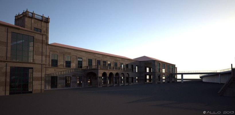 Estación Intermodal Santiago Compostela (proyecto de Guillermo Lorenzo) 6