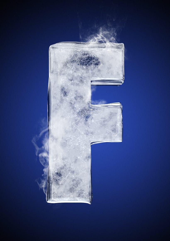 Tipografía helada para Nike 8