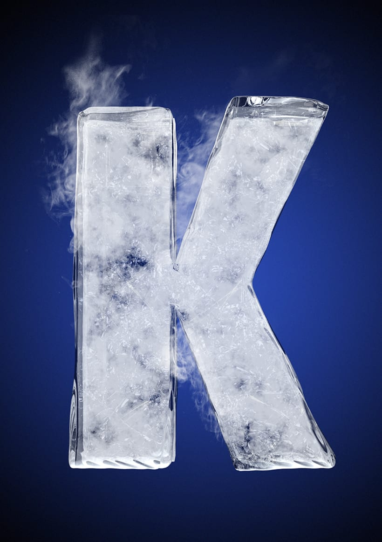 Tipografía helada para Nike 13