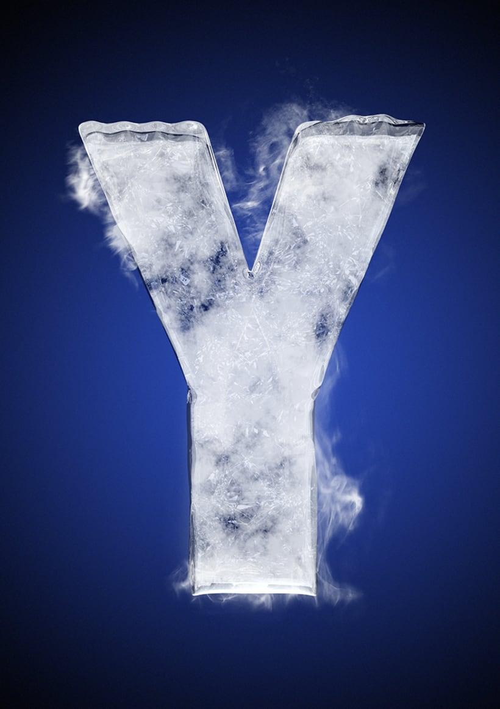 Tipografía helada para Nike 27