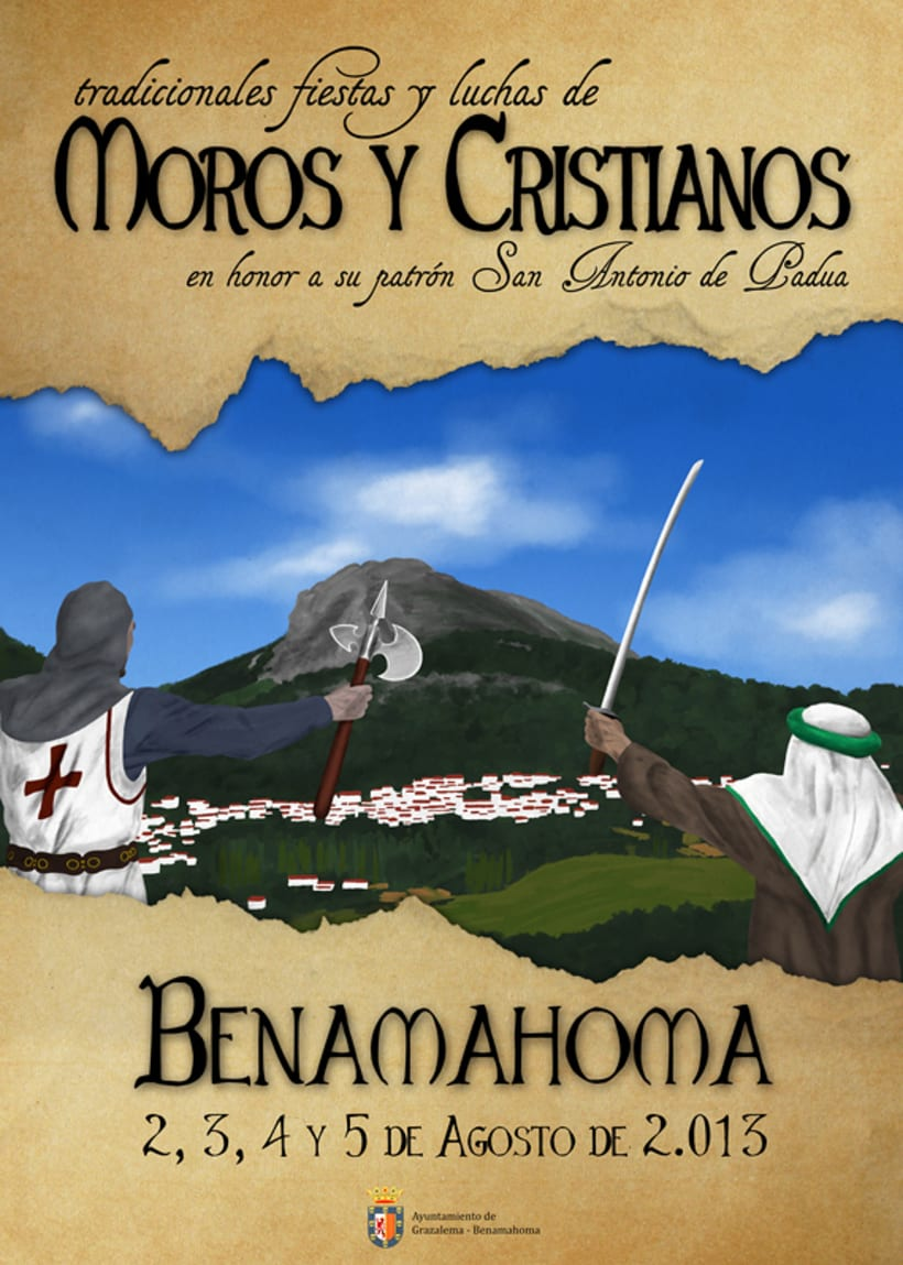 Moros y Cristianos · Benamahoma 2013 1