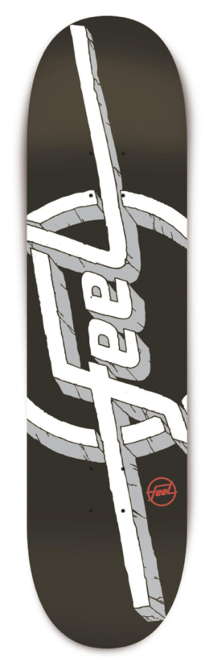 Feel Skateboards Decks 2
