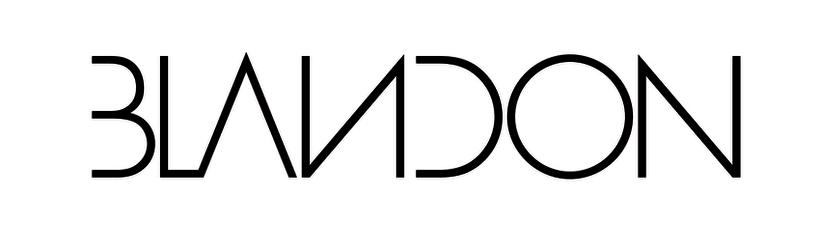 """""""Blandon"""" Identidad Corporativa, logotipo para línea de ropa masculina. 0"""