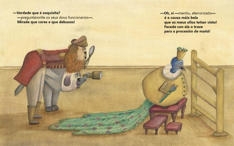"""Versión de """"El nuevo traje del rey"""" 2"""