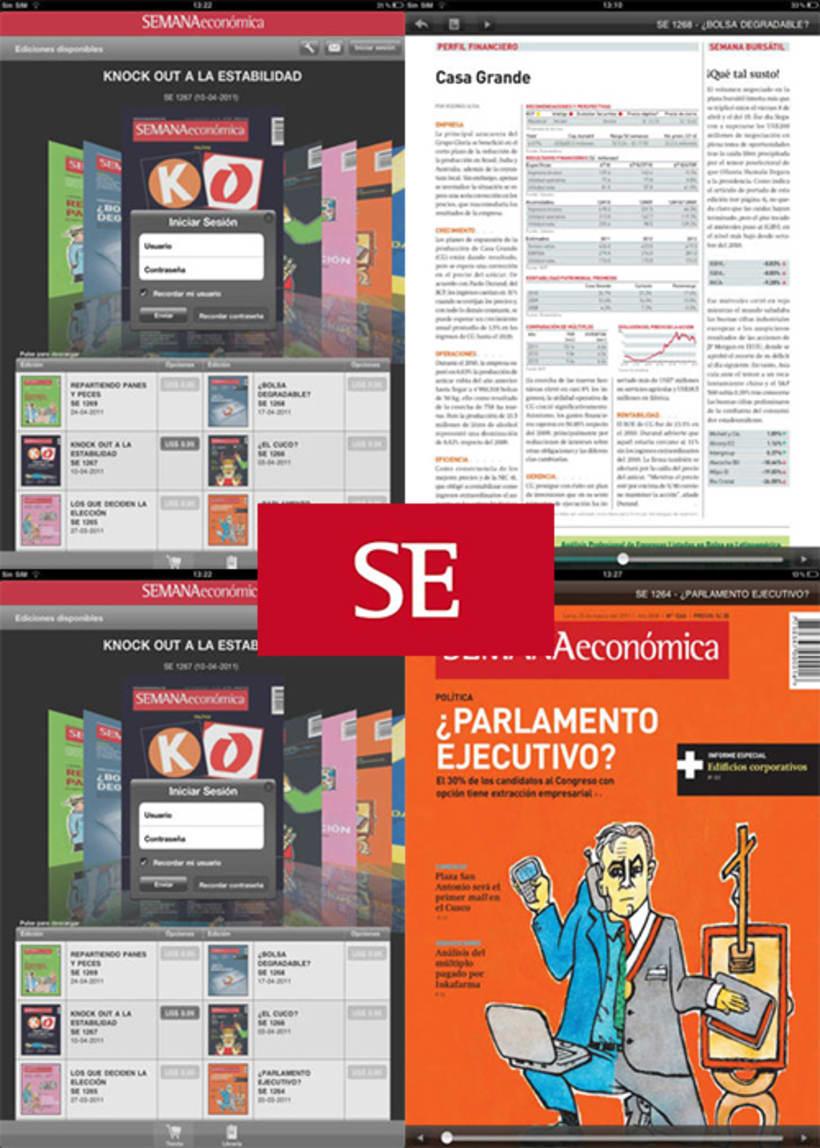 iOS (iPad):Semana económica 2