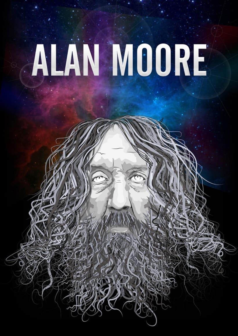 Portrait ALAN MOORE -1