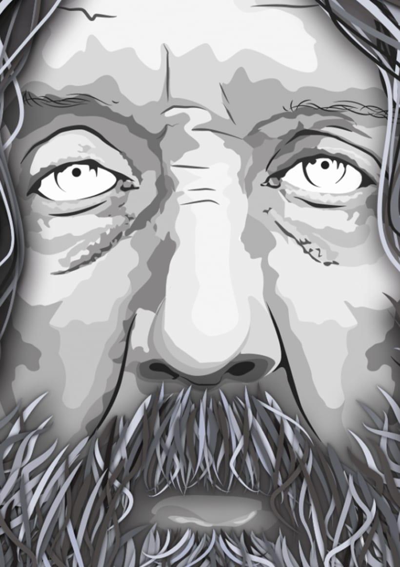 Portrait ALAN MOORE 1