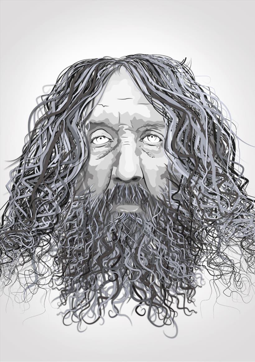 Portrait ALAN MOORE 2
