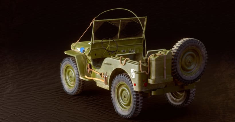 Willys MB US Army Jeep 5