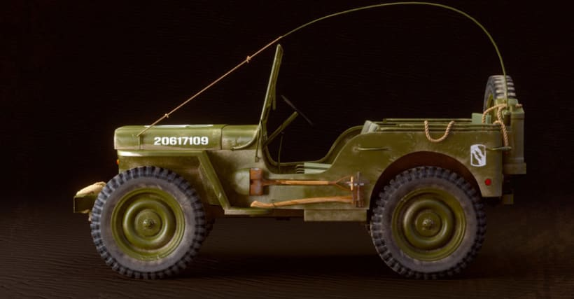 Willys MB US Army Jeep 6