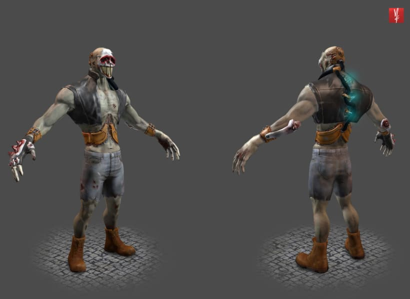 Zombo Schrute - Game character 0